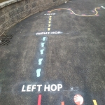 Netball Line Marking Installation in Orkney Islands 11