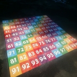 Thermoplastic Hopscotch Designs in Brampton 2