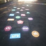 Thermoplastic Hopscotch Designs in Bishop Burton 9