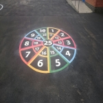 Thermoplastic Hopscotch Designs in Abbeytown 8