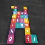 Thermoplastic Hopscotch Designs in Limavady 11