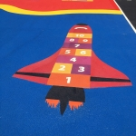 Primary Education Playground Marking in Applemore 2