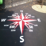 Netball Line Marking Installation in Abbot's Meads 4