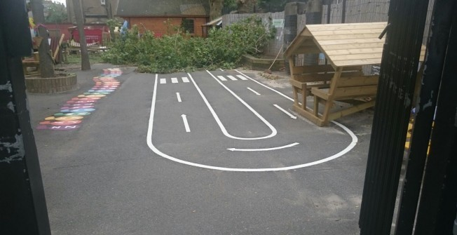 Outdoor Creche Surface Designs in Limavady