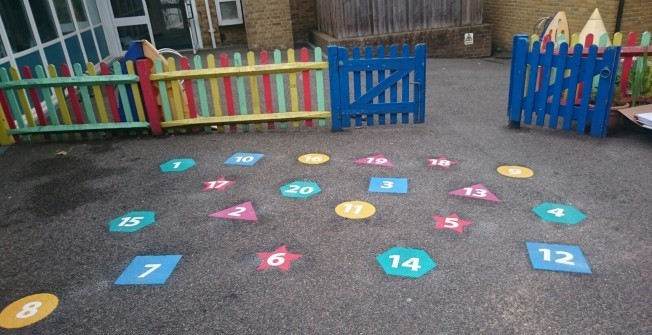 OFSTED Benefits from Playground Graphics in Alway
