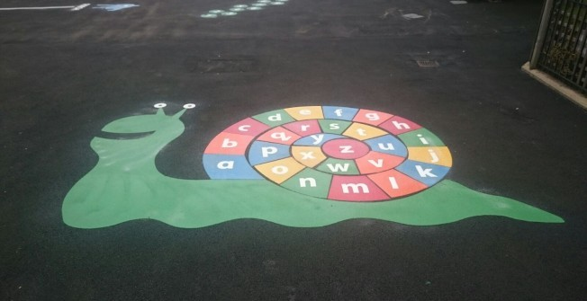 Playground Markings Designs in West Sussex