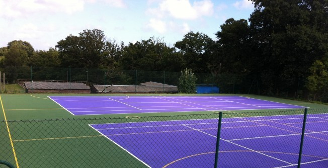 MUGA Sports Lining in Alfriston