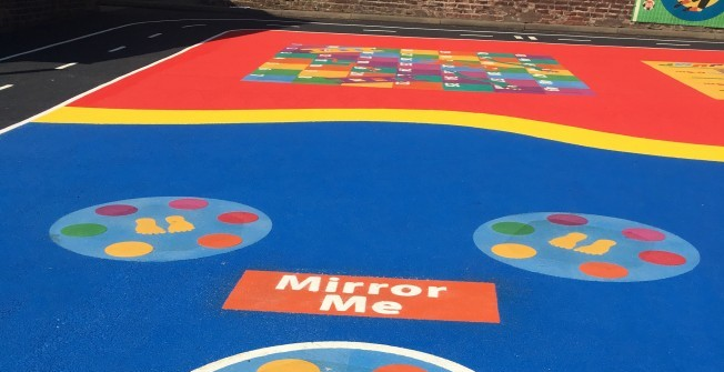Kids' Outdoor Playground Graphics in Great Saxham
