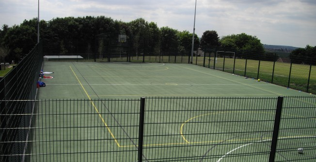 Maintaining an MUGA in Aldwarke